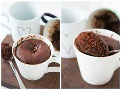 Brownie de caneca - Por isso hoje vim dar um dica de como fazer o Brownie de Caneca, uma sobremesa rápida, fácil de ser preparada e muito gostosa.