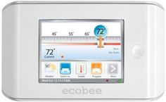 ecobee Smart Thermostat 4 Heat-2 Cool with Full Color Touch Screen ecobee , $250, http://www.amazon.com/dp/B004150PJG/ref=cm_sw_r_pi_dp_AViUtb0X81BJJGF2