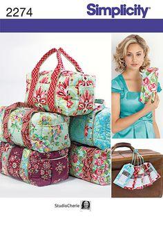 Simplicidad+patrón+2274+bolso+embrague+bolso+por+LilMissCraftyChick