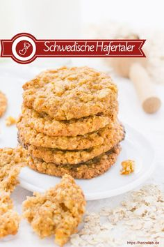 Biscuit recipes, Swedish recipes: Recipe for Swedish oatmeal cookies, which are very flat and crispy, from Herzelieb. These cookies are […] Dip Recipes, Appetizer Recipes, Cookie Recipes, Canned Blueberries, Vegan Scones, Gluten Free Flour Mix, Scones Ingredients, Vegan Blueberry, Pasta