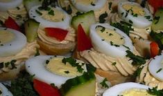 Chuťovková pěna ze žloutků Caprese Salad, Sushi, Ethnic Recipes, Food, Essen, Meals, Yemek, Insalata Caprese, Eten