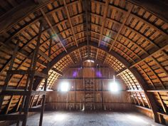 Bow Roof Construction | barns and books there are buildings that have for lack of a better ...