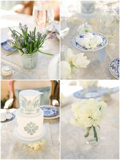 Inspired by this Classic Parisian Themed Bridal Shower