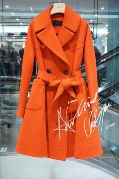 JIGOTT韩国专柜正品代购2015年冬款漂亮毛呢外套JJFK-00-0642-淘宝网