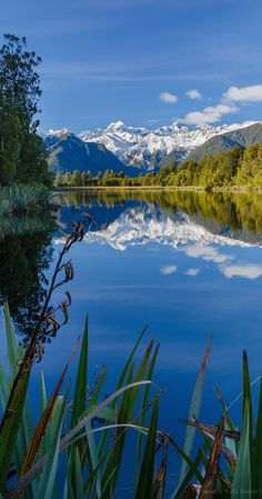 Lake Matheson, Westland National Park - NZ