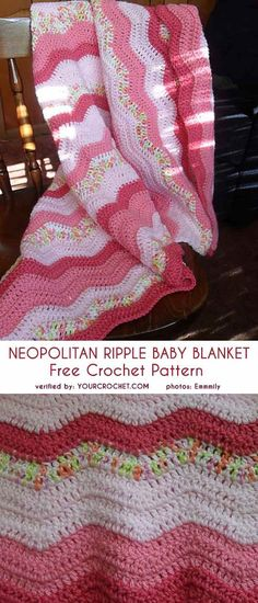 New Ideas Crochet Blanket Chevron Pattern Colour Chevron Crochet Blanket Pattern, Baby Blanket Crochet, Crochet Baby, Free Crochet, Crocheted Baby Blankets, Baby Shawl, Crochet Toys, Crochet Afghans, Baby Afghans