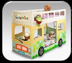2-kerroksinen fantasy bus | Huonekalut netistä, meiltä kotiisi lipastot, senkit, kaapit, tuolit, pöydät, valaisimet ja peilit. Paljon valkoi...