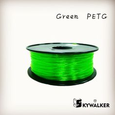 Good quality petg 1.75mm 3d filament 1kg high petg 3d filament quality green color  3d printer filament petg plastic