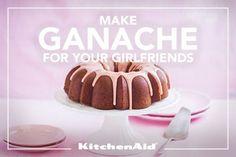 Buttermilk Strawberry Bundt Cake with Sweet White Chocolate Strawberry Ganache Recipe