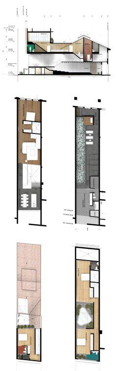 House N° 21- render floorplan (with material)