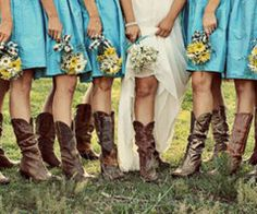 ... News - Celebrity Bride Guide cowgirl boots wedding country dress