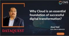 The cloud underpins the most important technologies of our time. The Internet of Things, Big Data, Machine Learning, Artificial Intelligence, Blockchain etc. all rely on cloud computing to realize their potential. It's time to take your enterprise on-cloud and tap into this opportunity.  #innovation #cloudcomputing #iot #ai #digitaltranformation #tech #management