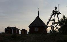 The church Maakalla, Ostrobothnia province of Western Finland. - Pohjanmaa.