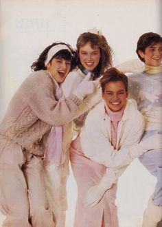 Deborah Foreman, Seventeen Magazine, Magazine Ads, Rich Girl, 80s Fashion, Childhood Memories, 1980s, Pop Culture, Picnic