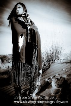Navajo Woman, via Flickr.