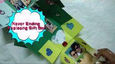 DIY Never Ending Photo Gift Box Making Idea | Exploding Gift Box |CraftLas
