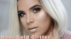 Rose Gold New Years Glitter