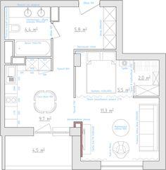 Возможная планировка кухни http://odnushka.blogspot.com/2010/06/blog-post.html