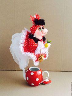 """Купить Чайная фея """"Душечка"""". - чайная фея, душевный подарок, сувенирная кукла, отличный подарок"""