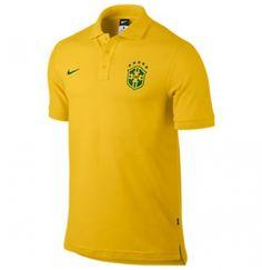 #Polo brasile 2014-15 nike core  ad Euro 43.81 in #Sport calcio polo #Moda