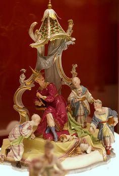 ... Höchster porzellanmanufaktur  modeller Johann Peter Melchior 18 th c