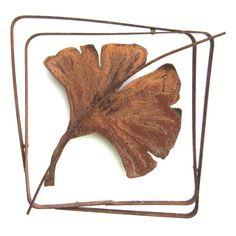 Ginko Leaf Frame. Metallic Evolution, Guelph ON