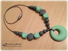 Teething Nursing Necklace Jewelry Chewbeads by LittleLoStelle