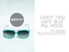 Candy Two Light Blue Php 340.00 on #ShopYAWYW free shipping Light Blue, How To Get, Candy, Free Shipping, Shopping, Sweets, Candy Bars, Pastel Blue, Light Blue Color