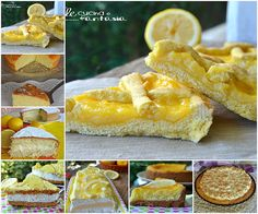 Raccolta di ricette di dolci al limone facili