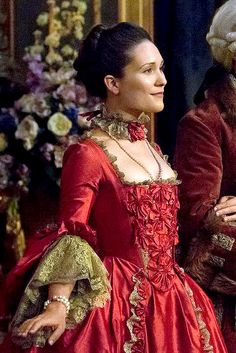 Louise de Rohan (Claire Sermonne) in Season Two of 'Outlander' on Starz, Episode… Outlander Season 2, Outlander Book Series, Outlander Casting, Outlander Tv, Claire Fraser, Jamie Fraser, 18th Century Dress, 18th Century Clothing, 18th Century Fashion