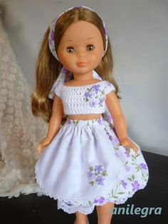 ANILEGRA COSE PARA NANCY Old Toys, Doll Clothes, Harajuku, Deco, Baby Kids, Barbie, Flower Girl Dresses, Snoopy, Dolls