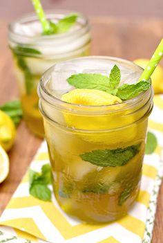 Sweet Tea Vodka Lemonade Mojitos