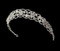 Bridal #Headband- Crystal Woven Bridal Headband #Tiara $99.99 StressAwayBridalShop.com #wedding