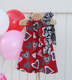 valentine dress for lil ones