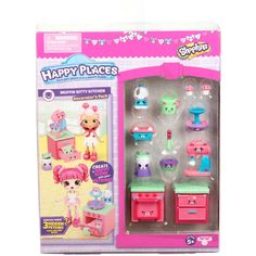 Shopkins Happy Places Season 3 Decorator's Pack - Muffin Kitty Kitchen