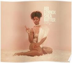 """NITION OF FRESH : Ari Lennox - Shea Butter Baby.Washington, D. songwriter and Dreamville artist Ari Lennox drops her debut album """"Shea Butter Baby"""", that features appearances by J. Cole and J. R&b Albums, Best Albums, Music Albums, Lps, Album Baby, Baby Remix, Anfield Liverpool, Best R&b, Baby Posters"""