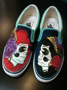 Custom Painted Vans by TheCandyJarSneakers on Etsy