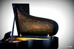Clair de Lune designed by Alexander Lynx for  Steinway Lynx  Collection A Fine Art Handcrafted