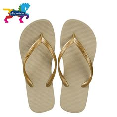 e7ddd688e Hotmarzz Women Shoes Slippers Fashion Designer Beach Flip Flops Ladies  Summer Flat Thong Sandals Shower Slides