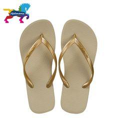 06670e031b0a2d Hotmarzz Women Shoes Slippers Fashion Designer Beach Flip Flops Ladies  Summer Flat Thong Sandals Shower Slides