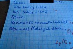 Trudno uwierzyć, co na klasówkach potrafią pisać (i nie tylko!) polscy uczniowie. Oglądając te sprawdziany, uśmiejecie się do łez, zwłaszcza że poczucia Meme Lord, Depression, The Cure, Humor, Memes, School, Funny, Diy, Bricolage