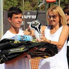 Rafa Nadal awards by MAPFRE Tour