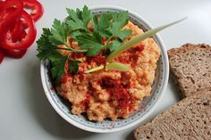 Vegán köles körözött Vegan Vegetarian, Vegetarian Recipes, Risotto, Mashed Potatoes, Dips, Ethnic Recipes, Crackers, Spreads, Food