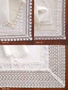Matouk Venise Table Linens