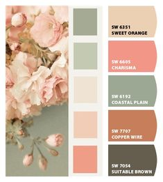 Paint colors from Chip It! by Sherwin-Williams Paint colors from Chip It! by Sherwin-Williams Nursery Paint Colors, Bathroom Paint Colors, Bedroom Colors, Nursery Color Schemes, Vintage Paint Colors, Pastel Paint Colors, Vintage Color Schemes, Color Schemes Colour Palettes, Color Combos