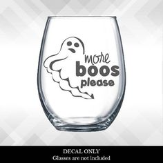 hocus pocus i need wine to focus decal for wine glass or plastic