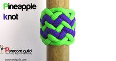 A tutorial on the pineapple knot of 12 leads and 12 bights.