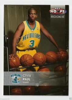 2005-06 NBA HOOPS ROOKIE CHRIS PAUL #181 L.A. CLIPPERS