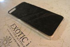 Exotic Leather iPhone 5/5s case Pony Leather with fur by Exotici, $65.00