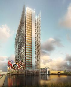 Main Building EPO, Rijswijk, Netherlands  I Ateliers Jean Nouvel